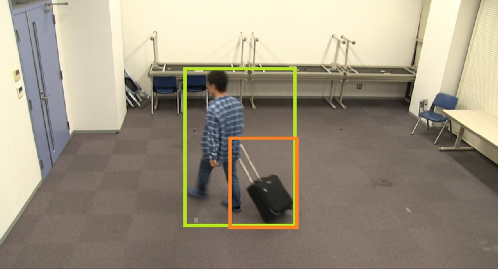 Person baggage position determination